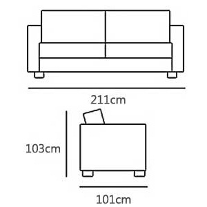 3 Seater from £1205