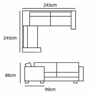 2x2 Corner from £2,855