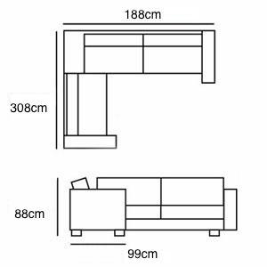 4x1 Corner from £2,955
