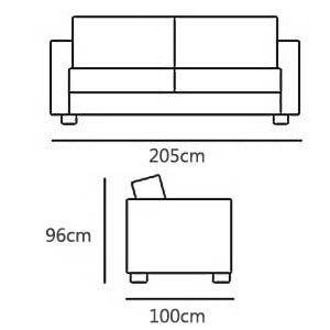 3 Seater from £1160