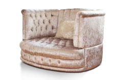 Grenoble Swivel Love Seat