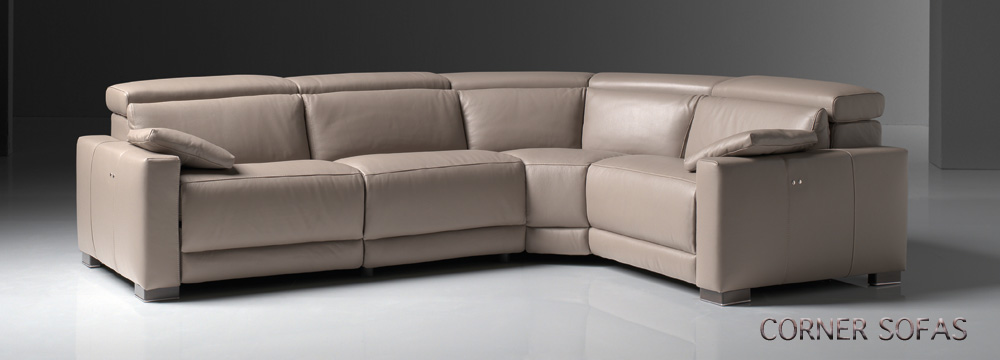 Leather Corner Sofa Manchester Leather Corner L Shaped