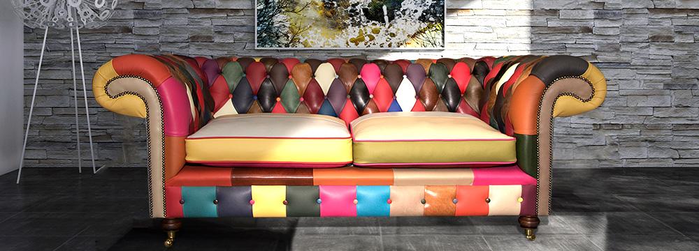Phenomenal Beautiful Patchwork Sofas From Newman Bright Home Interior And Landscaping Sapresignezvosmurscom