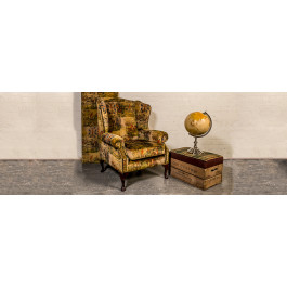 Blenheim Fabric Chesterfield Chair