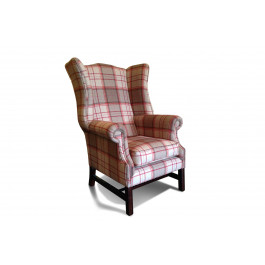 Duke Fabric Wing Chair