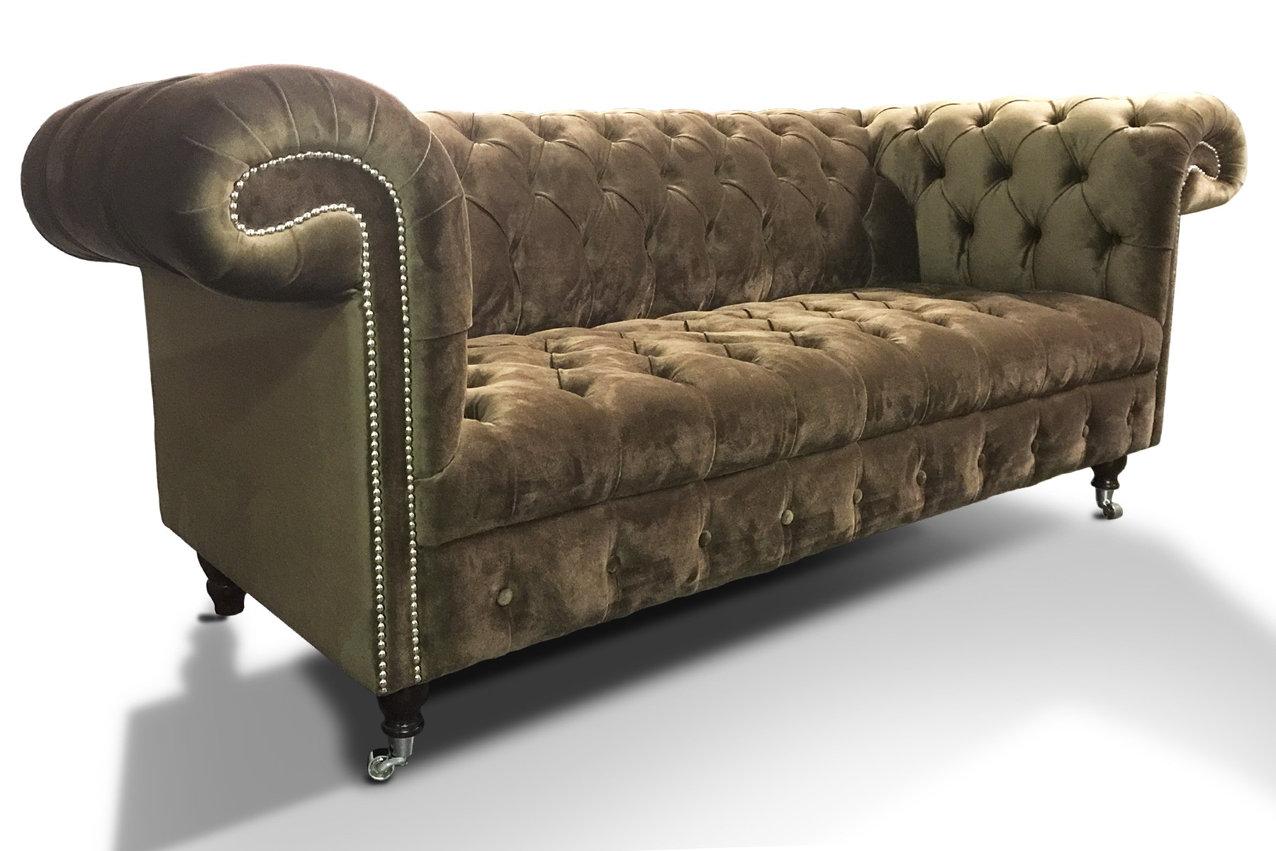 Balmoral Fabric Chesterfield Sofa
