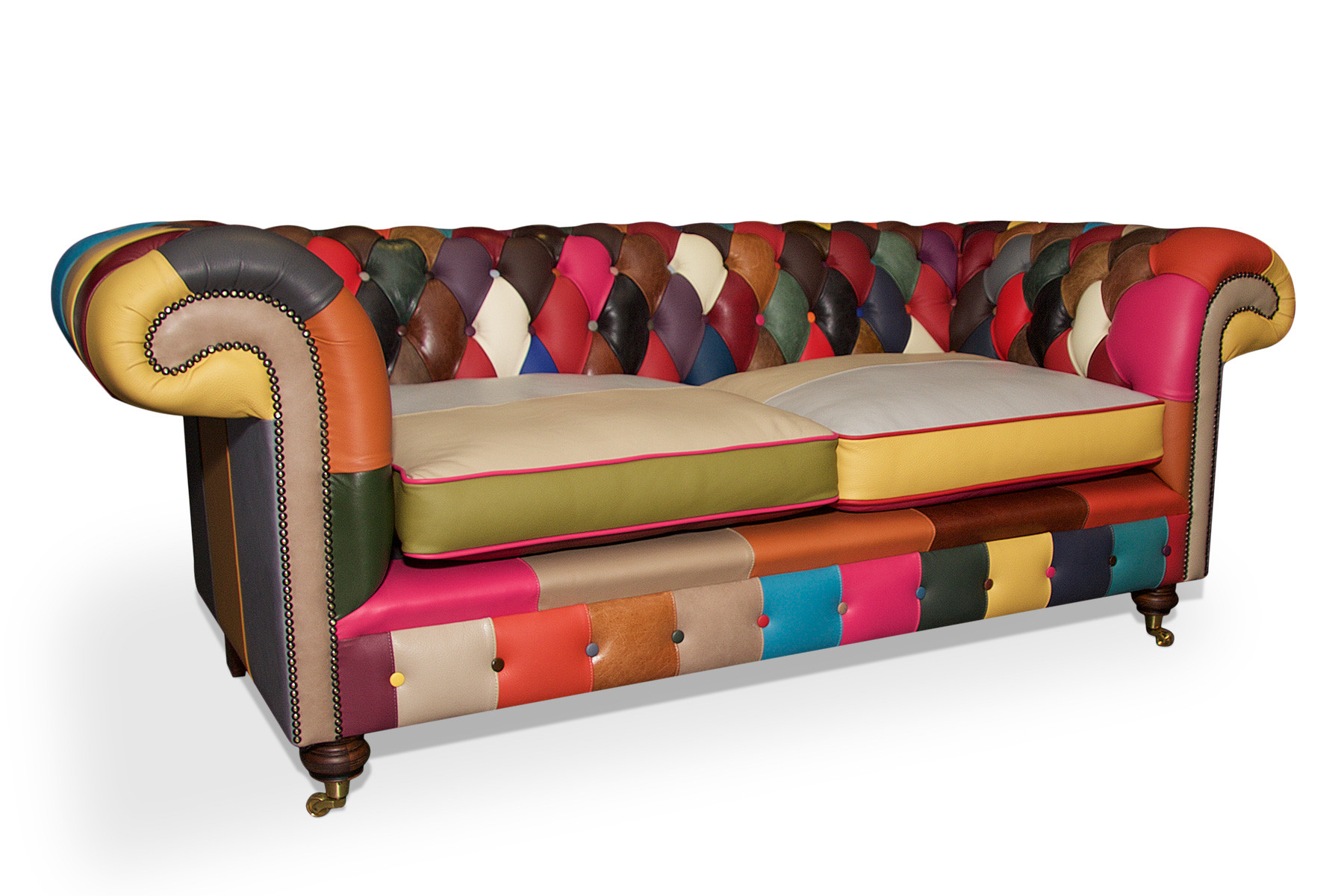 These 6 Pieces Of Colorful Furniture Are Absolute Must Haves: Balmoral Patchwork Sofa