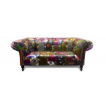 Arabia Patchwork Chesterfield Sofa