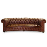 Arena Curved Chesterfield Sofa
