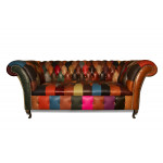 Jester Patchwork Chesterfield Sofa