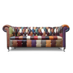 Carnival Patchwork Chesterfield Sofa