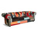 Bjorn Patchwork Chesterfield Sofa