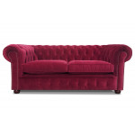 Prince Of Wales Fabric Chesterfield