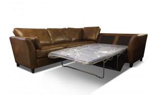 Melbourne Corner 3x2 Sofa Bed in Bentley Ash