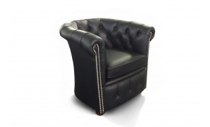 Byron Tub Chair in S Black