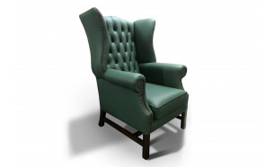 Duke Chair in Shelly Jade Green