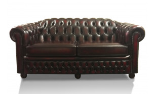 Highlander 3 Seater in Antique Red