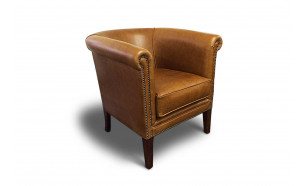 KB Tub Chair RN in OE Saddle