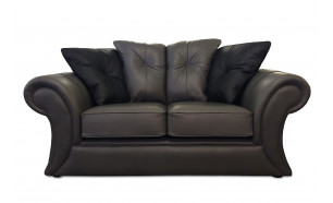 Maxima 2 Seater in Pullman Crystal with Shelly Black Piping