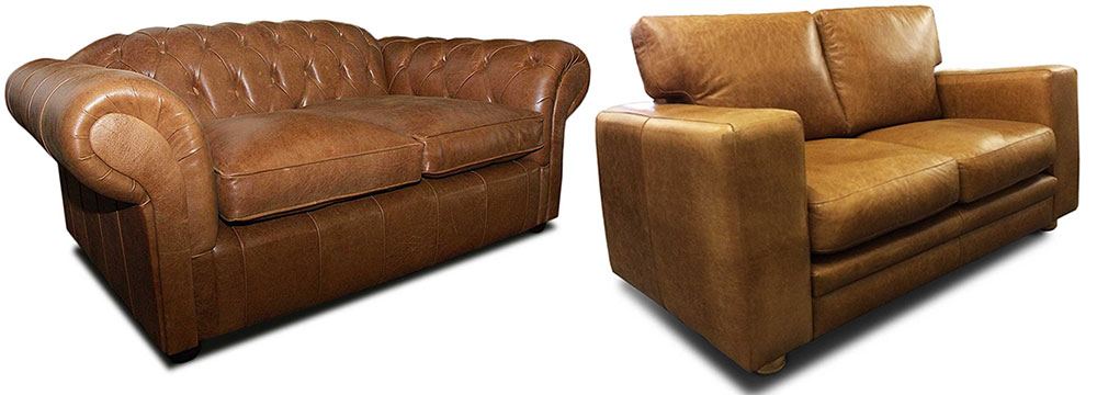 Vintage Sofas Vintage Leather Distressed Sofas